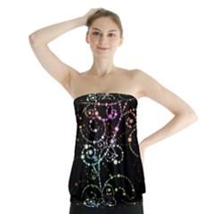 Sparkle Design Strapless Top