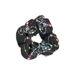 Sparkle Design Velvet Scrunchie