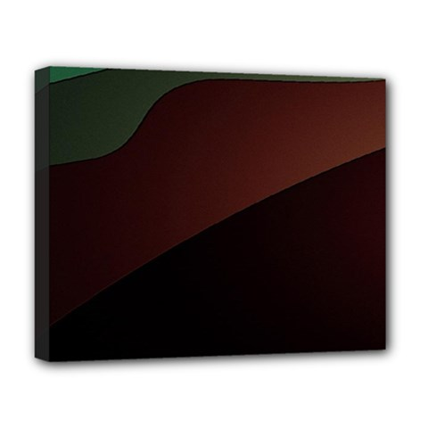 Color Vague Abstraction Deluxe Canvas 20  X 16