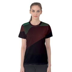 Color Vague Abstraction Women s Cotton Tee
