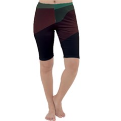Color Vague Abstraction Cropped Leggings