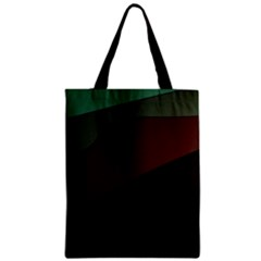 Color Vague Abstraction Zipper Classic Tote Bag