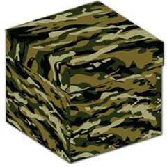 Military Vector Pattern Texture Storage Stool 12