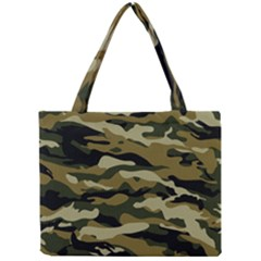 Military Vector Pattern Texture Mini Tote Bag