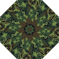 Military Camouflage Pattern Hook Handle Umbrellas (Small)