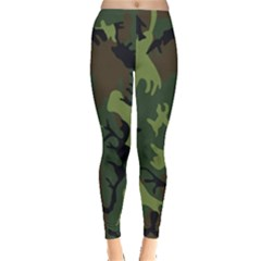 Military Camouflage Pattern Leggings