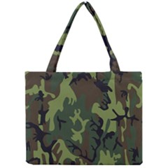 Military Camouflage Pattern Mini Tote Bag