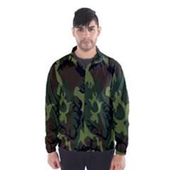 Military Camouflage Pattern Wind Breaker (Men)