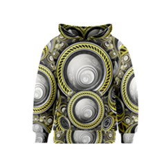 A Cautionary Fractal Cake Baked for GlaDOS Herself Kids  Pullover Hoodie