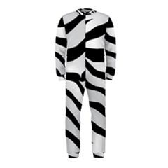 White Tiger Skin OnePiece Jumpsuit (Kids)