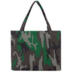 Army Green Camouflage Mini Tote Bag