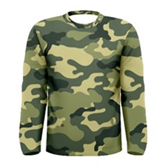 Camouflage Camo Pattern Men s Long Sleeve Tee