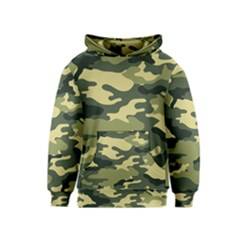 Camouflage Camo Pattern Kids  Pullover Hoodie