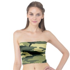 Camouflage Camo Pattern Tube Top