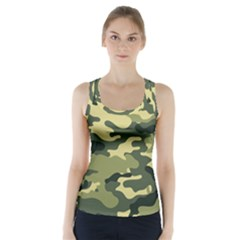 Camouflage Camo Pattern Racer Back Sports Top