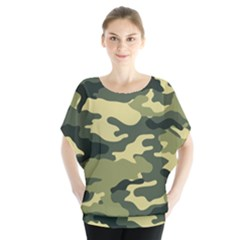 Camouflage Camo Pattern Blouse