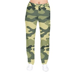 Camouflage Camo Pattern Drawstring Pants