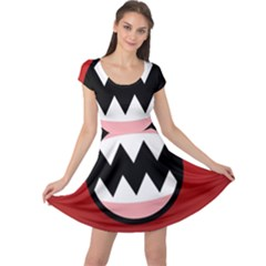 Funny Angry Cap Sleeve Dresses