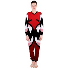 Funny Angry OnePiece Jumpsuit (Ladies)