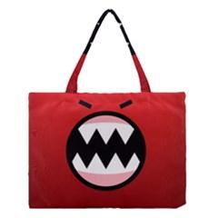 Funny Angry Medium Tote Bag