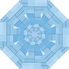 Blue Squares Iphone 5 Wallpaper Straight Umbrellas