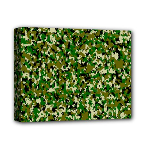 Camo Pattern Deluxe Canvas 14  X 11