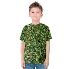 Camo Pattern Kids  Cotton Tee
