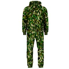 Camo Pattern Hooded Jumpsuit (Men)