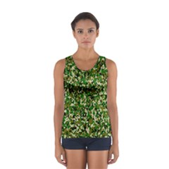 Camo Pattern Women s Sport Tank Top