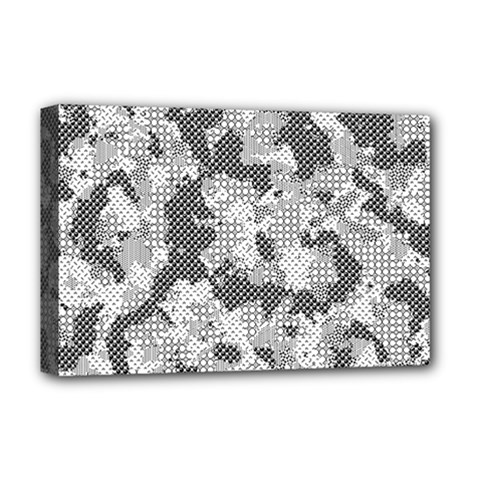 Camouflage Patterns Deluxe Canvas 18  x 12