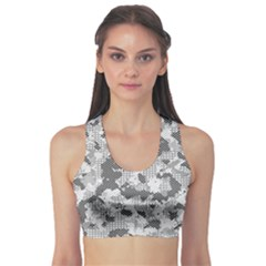 Camouflage Patterns Sports Bra