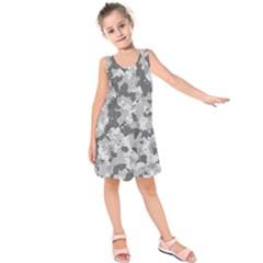 Camouflage Patterns Kids  Sleeveless Dress