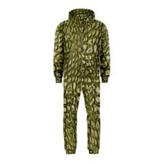 Aligator Skin Hooded Jumpsuit (kids)