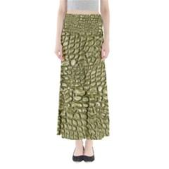 Aligator Skin Full Length Maxi Skirt