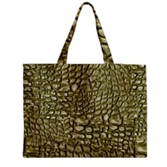 Aligator Skin Medium Tote Bag