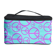 Peace Sign Backgrounds Cosmetic Storage Case