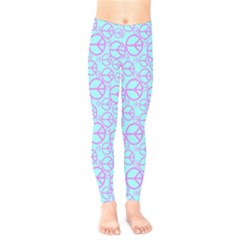 Peace Sign Backgrounds Kids  Legging