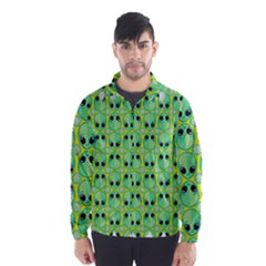 Alien Pattern Wind Breaker (men)