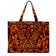 Alien Dj Medium Zipper Tote Bag