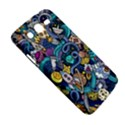 Cartoon Hand Drawn Doodles On The Subject Of Space Style Theme Seamless Pattern Vector Background Samsung Galaxy Mega 5.8 I9152 Hardshell Case  View5