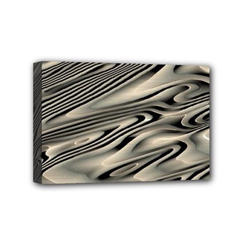 Alien Planet Surface Mini Canvas 6  X 4