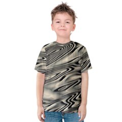 Alien Planet Surface Kids  Cotton Tee