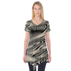 Alien Planet Surface Short Sleeve Tunic