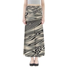 Alien Planet Surface Full Length Maxi Skirt