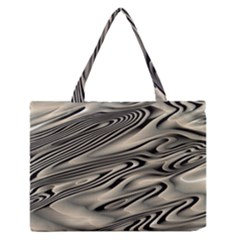 Alien Planet Surface Medium Zipper Tote Bag