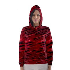 Alien Sine Pattern Hooded Wind Breaker (Women)
