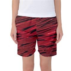 Alien Sine Pattern Women s Basketball Shorts