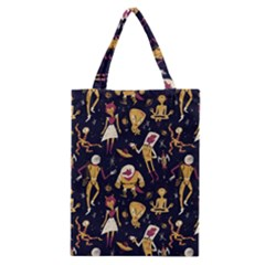 Alien Surface Pattern Classic Tote Bag