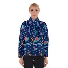 Alien Pattern Blue Winterwear
