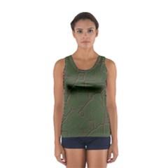 Alien Wires Texture Women s Sport Tank Top